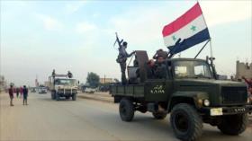 Vídeo: Ejército sirio recupera una ciudad de aliados de Turquía
