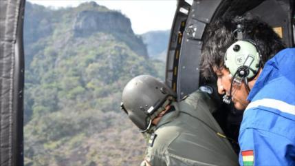 Evo revela plan de la Fuerza Aérea para asesinarlo en helicóptero