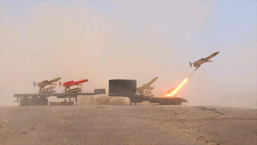 """Defensa Antiaérea iraní destruye con éxito """"blancos enemigos"""""""