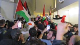 Protestan en Canadá contra un evento de exsoldados israelíes