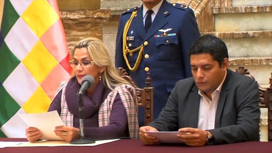 Morales pide enjuiciar a Áñez por la masacre del pueblo boliviano | HISPANTV