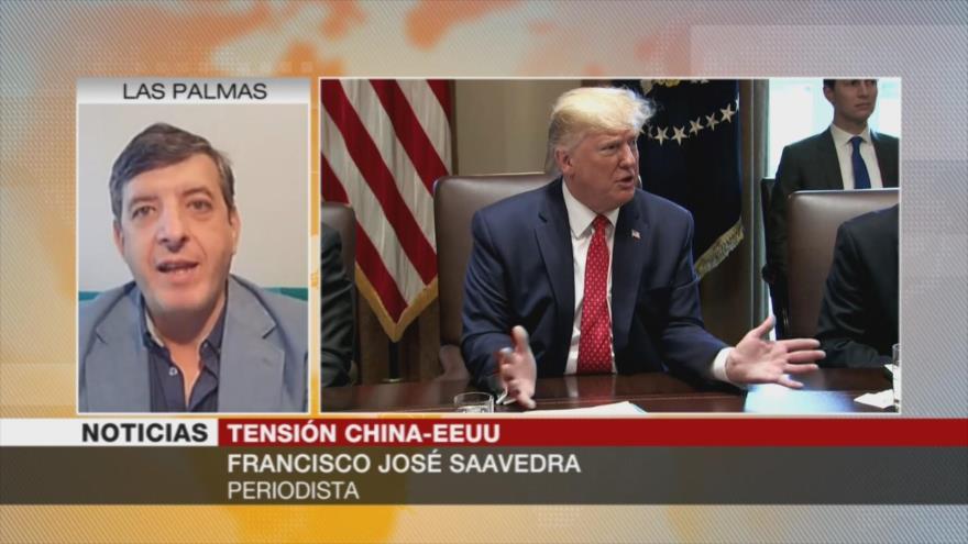 Saavedra: EEUU será más dañado que China en la guerra comercial