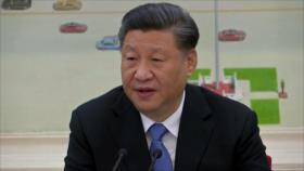 Presidente chino dice que su país no teme responder a EEUU