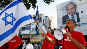 "Vídeo: Israelíes piden a gritos renuncia del ""corrupto"" Netanyahu"