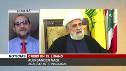 Nagi: A El Líbano le dijeron hambre o entrega del país