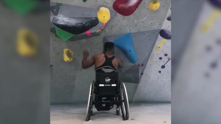 Un deportista demuestra que no hay límites para el ser humano