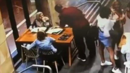 Vídeo: Brutal ataque contra mujer musulmana embarazada en Australia