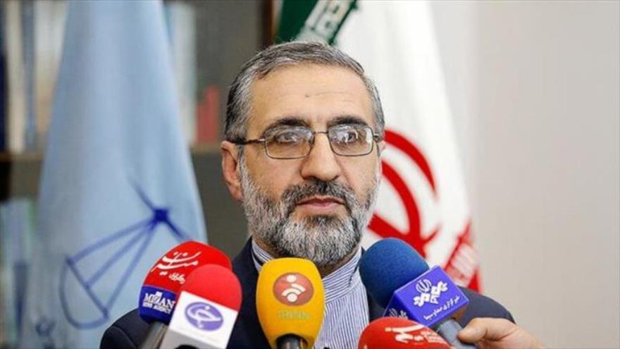 El portavoz del Poder Judicial de Irán, Gholam Hosein Esmaili, en declaraciones a la prensa.
