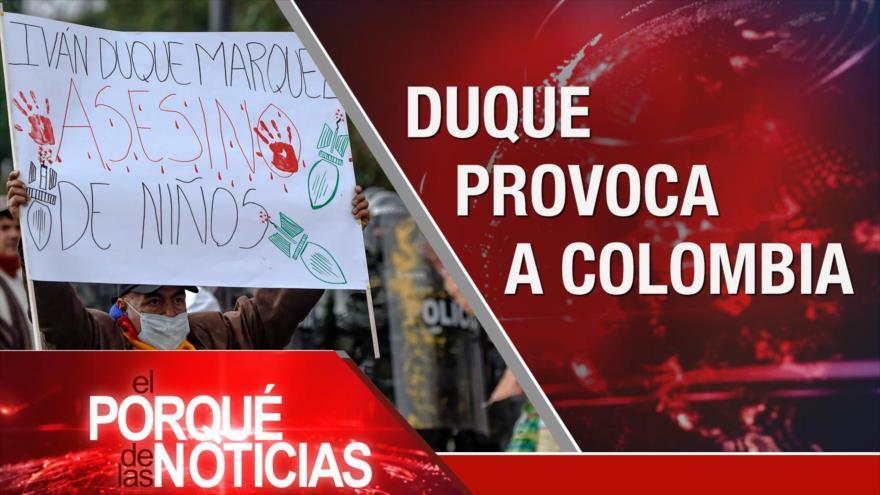El Porqué de las Noticias: Otan y Rusia. Guerra comercial Chine-EEUU. Protesta en Colombia