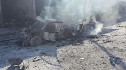 Vídeo: Atentado con coche bomba deja 20 muertos en norte de Siria