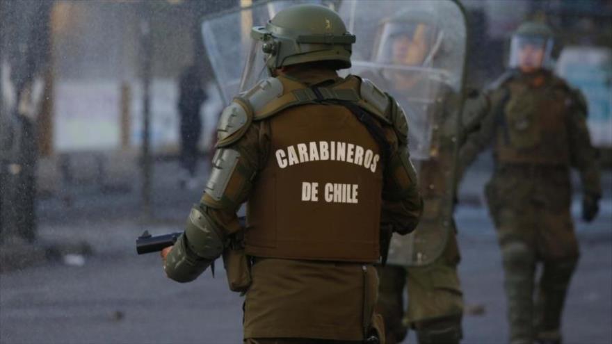 Carabineros siguen usando perdigones contra manifestantes en Chile