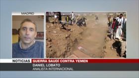 Lobato: A Occidente no le importa la vida de los yemeníes