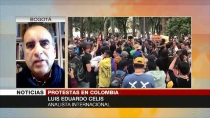 Celis: La búsqueda de democracia en Colombia enfrenta represión