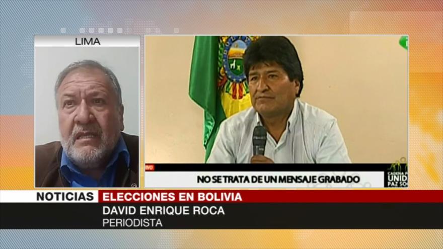 Roca: Puede que no haya elecciones en Bolivia por caída de Áñez | HISPANTV