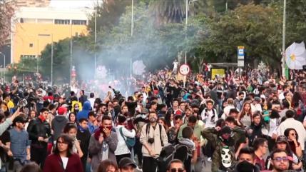 Continúan las protestas en Colombia después del paro nacional