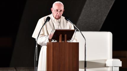 """Papa tilda desde Hiroshima de """"crimen"""" uso de las armas nucleares"""