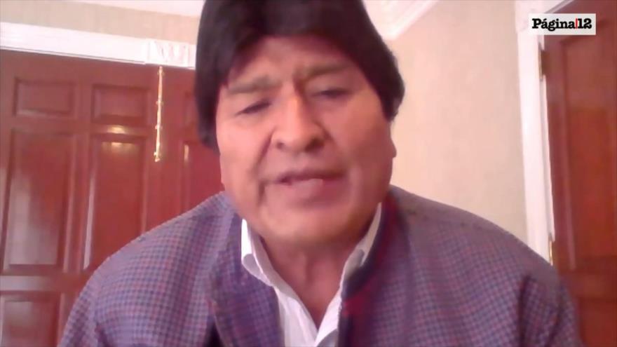 Evo Morales: haré todo lo posible para la paz en Bolivia