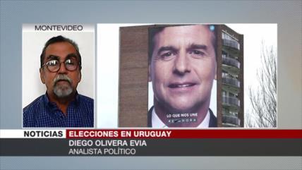 Evia: No son reales encuestas actuales en Uruguay sobre balotaje