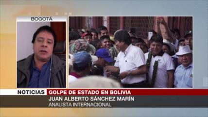 'Renuncia de Morales a comicios afirma su interés por paz'