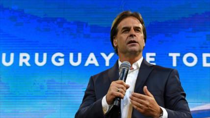 Lacalle habla de su victoria en las Presidenciales de Uruguay