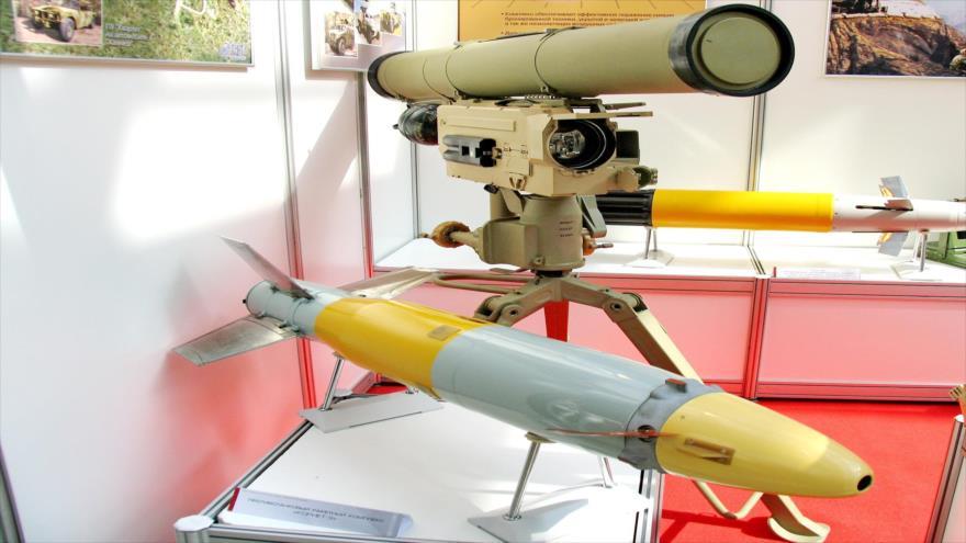 El 9M133 Kornet de fabricación rusa.