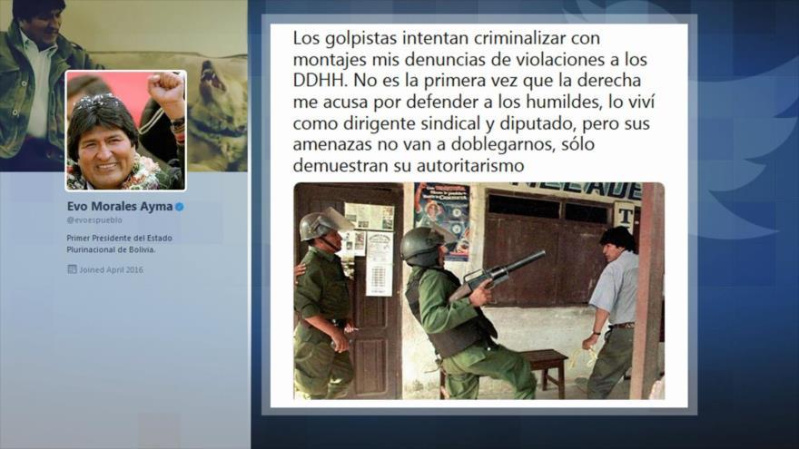 Morales denuncia violaciones a DDHH por parte de gobierno de Áñez | HISPANTV