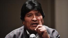 Morales: Sacrifico mi candidatura a las Presidenciales por la paz