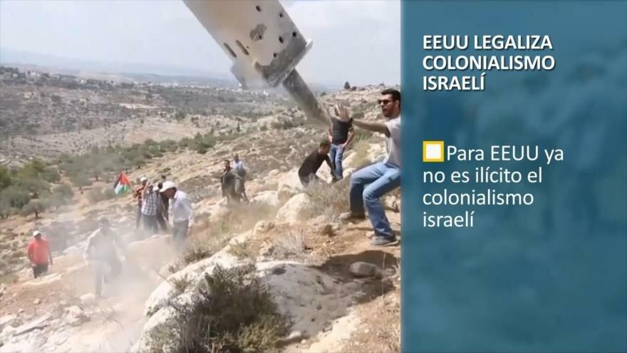 PoliMedios: EEUU legaliza colonialismo israelí