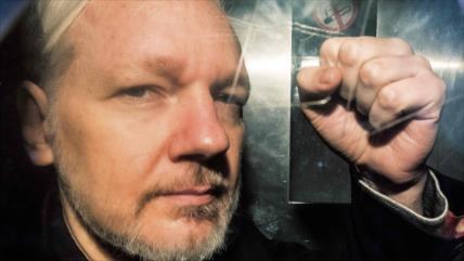 Julian Assange renovó sus argumentos contra su extradición a EEUU