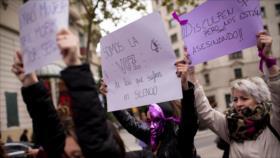 Celebran masivas marchas en el mundo contra la violencia machista