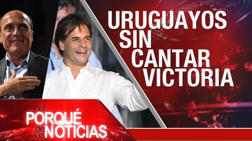 El Porqué de las Noticias: Disturbios en Irán. Elecciones en Uruguay. Protestas en Colombia