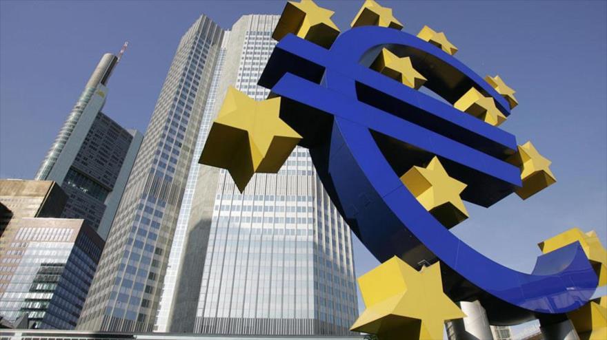 La sede del Banco Central Europeo, en Fráncfort, Alemania.