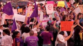 En las calles, mujeres panameñas exigen respeto y participación