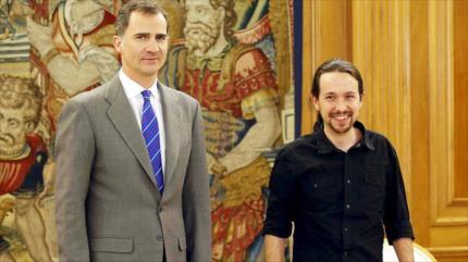 Podemos apoya un referéndum para abolir la monarquía en España