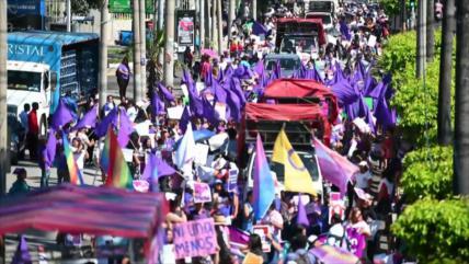 América Latina se moviliza por día de la no violencia contra la mujer