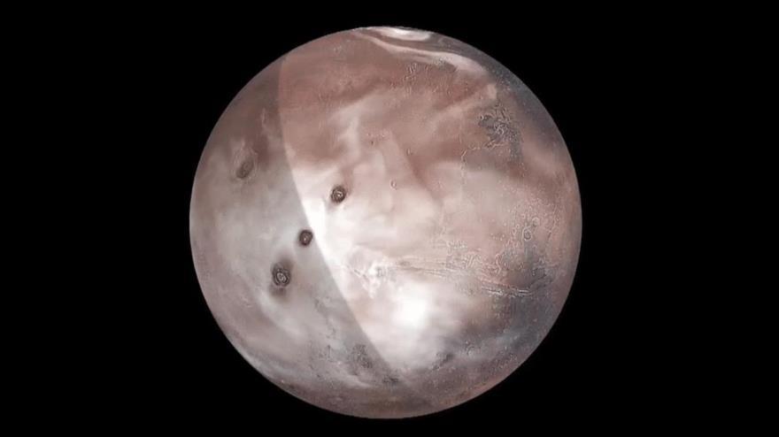 Vídeo: Simulación de NASA muestra movimiento de las nubes en Marte | HISPANTV