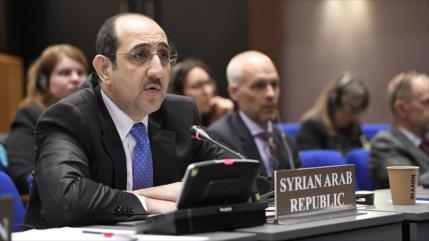 Siria pide obligar a Israel a destruir armas de destrucción masiva