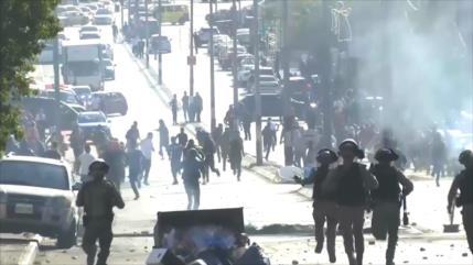 Israel reprime protesta de palestinos con motivo de Día de la Ira