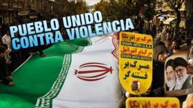 Detrás de la Razón: Irán; pueblo unido contra violento injerencismo