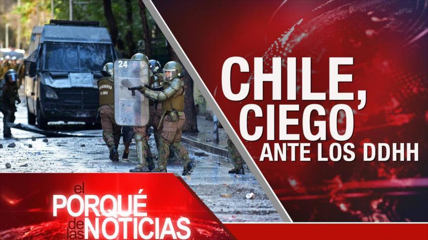 El Porqué de las Noticias: Día de la Ira palestina. Crisis en Colombia. Chile entre protestas y represión