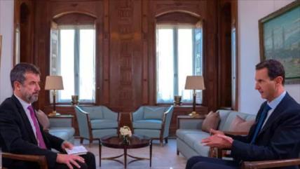 """Al-Asad tacha de """"lindo chiste"""" de Trump, asesinato de Al-Bagdadi"""