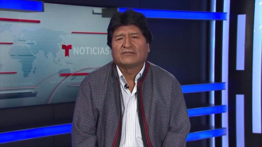 Morales denuncia que EEUU no quiere que él regrese a Bolivia | HISPANTV
