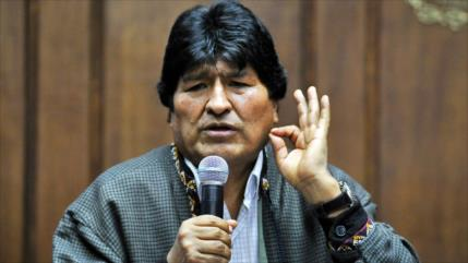 Morales censura notificación de Interpol en su contra