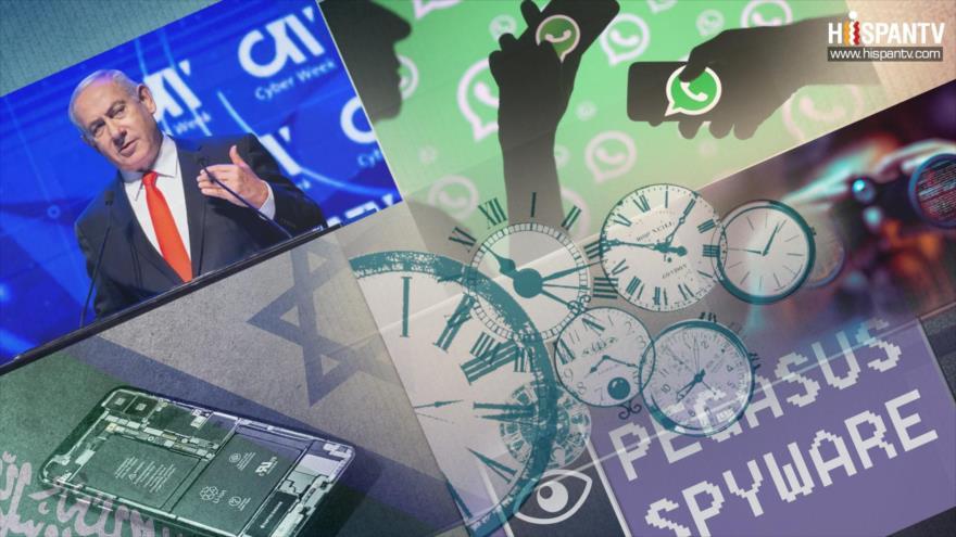 10 Minutos: Programa de espionaje israelí