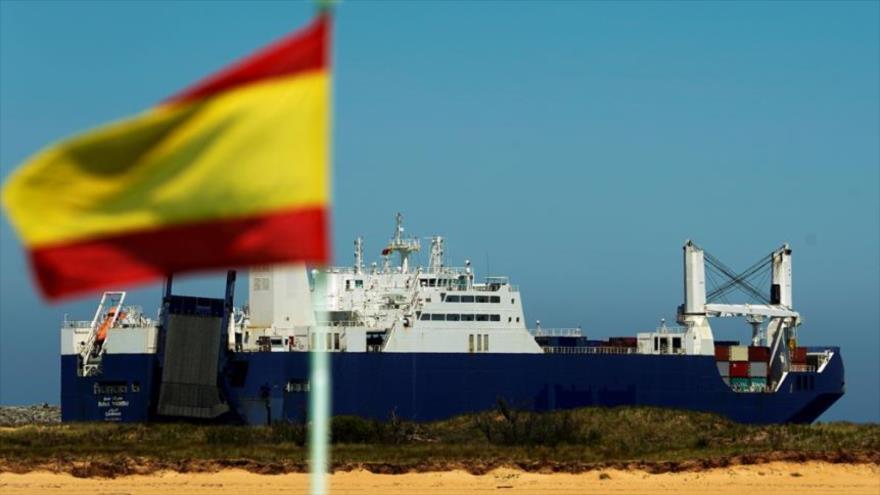 España vuelve a permitir atraque de un buque saudí cargado de armas | HISPANTV