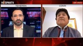 Morales: No soy corrupto, llegué a la Presidencia por la patria