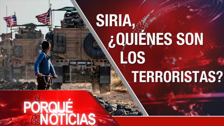 El Porqué de las Noticias: Lucha contra terrorismo en Siria. Presidenciales de Uruguay. Estallido social en Chile