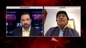 Morales: Seguirá la lucha pacífica por la paz pese a la represión