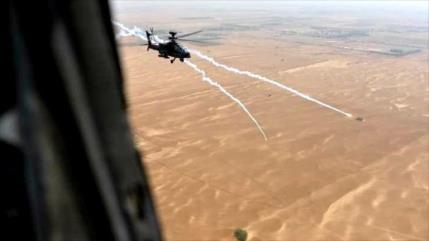 Fuerzas yemeníes derriban un helicóptero saudí y matan a pilotos