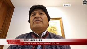 Morales: EEUU apoya neoliberalismo y modelo de FMI en Bolivia